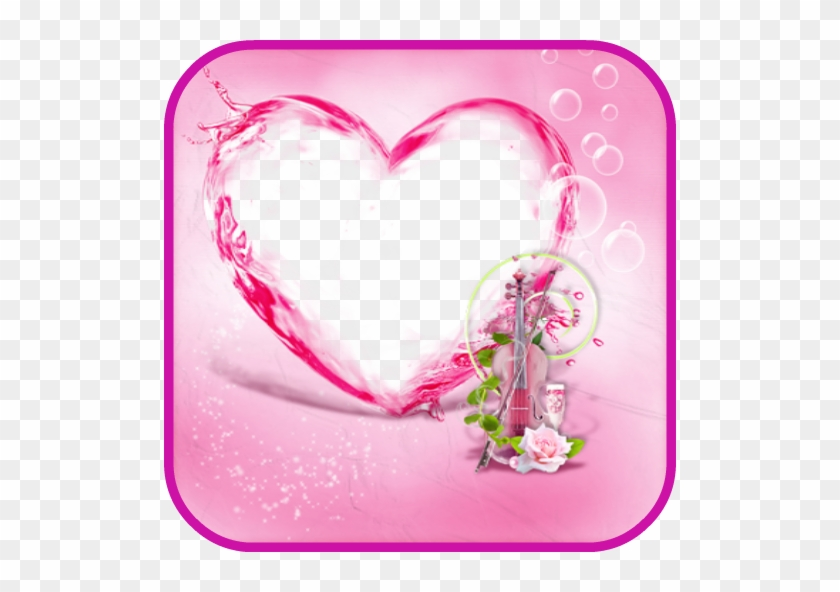 Heart Frame Photo Editor - Free Transparent PNG Clipart