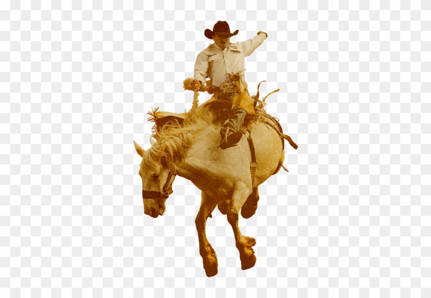 Free Rodeo Clipart Signspecialist Com General Decals - Cowboy With Horse Png #1255680