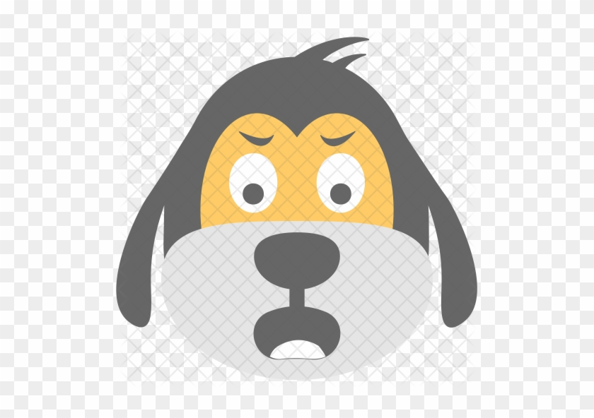 Dog Face Emoji For Email Sms Id 12394 Co Uk - Emoticon - Free