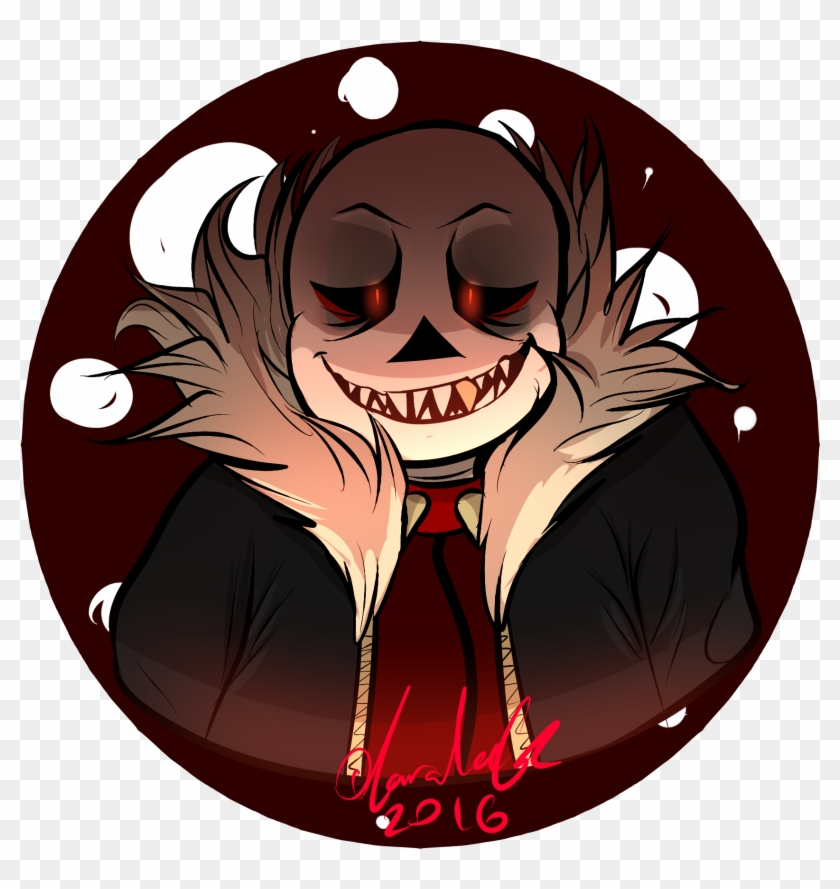 A Better Underfell Sans Drawing By Rag Tag - Illustration