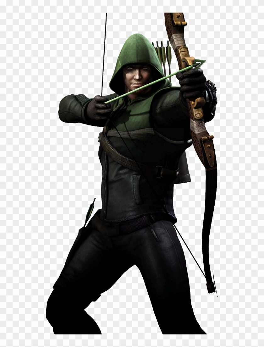 Injusticegreenarrowcw - Injustice Gods Among Us Green Arrow Arrow #1256656