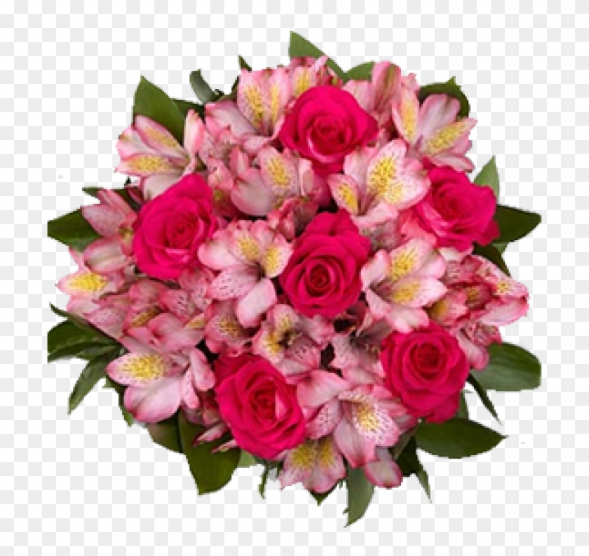 Go To Image - Pink Lily Flowers Bouquet #1256721