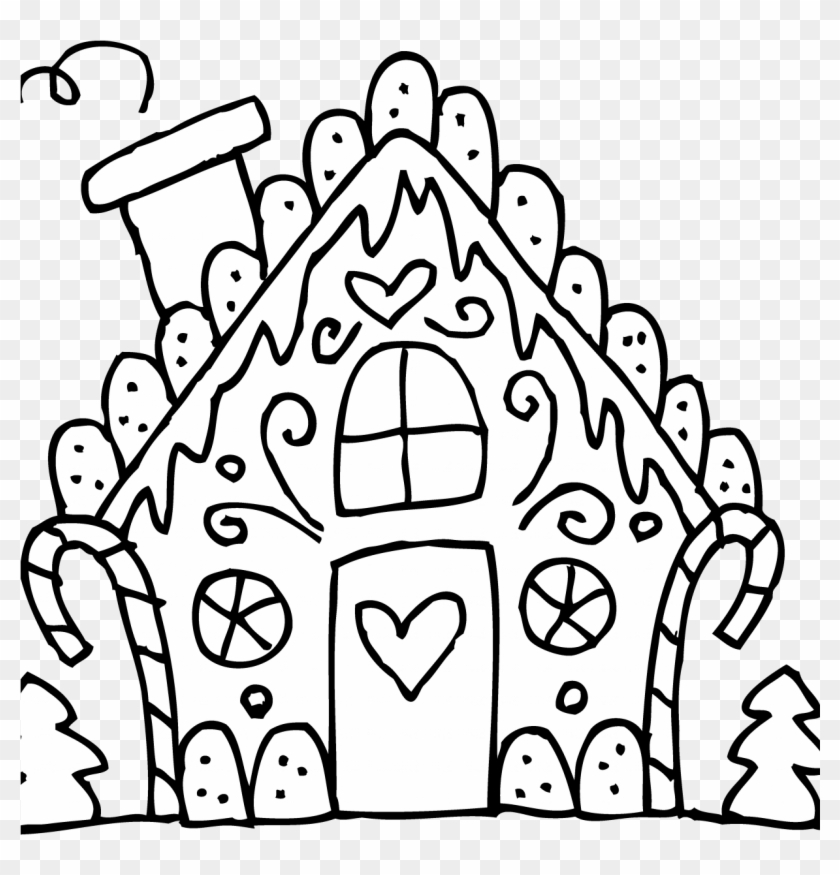 - Best Gingerbread House Coloring Pages For Kids 1224 - Gingerbread House  Color Page - Free Transparent PNG Clipart Images Download