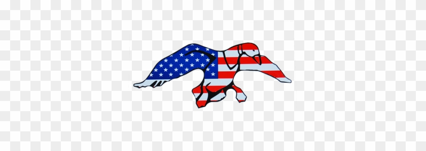Duck Commander Logo Vector And Clip Art Inspiration - Ducks Unlimited American Flag #1257759