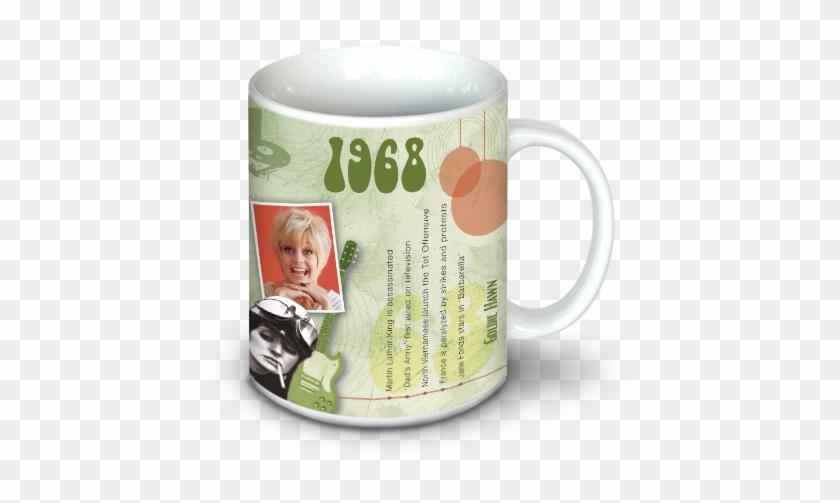 1968 Birthday Gift 1968 Coffee Mug Free Transparent Png Clipart
