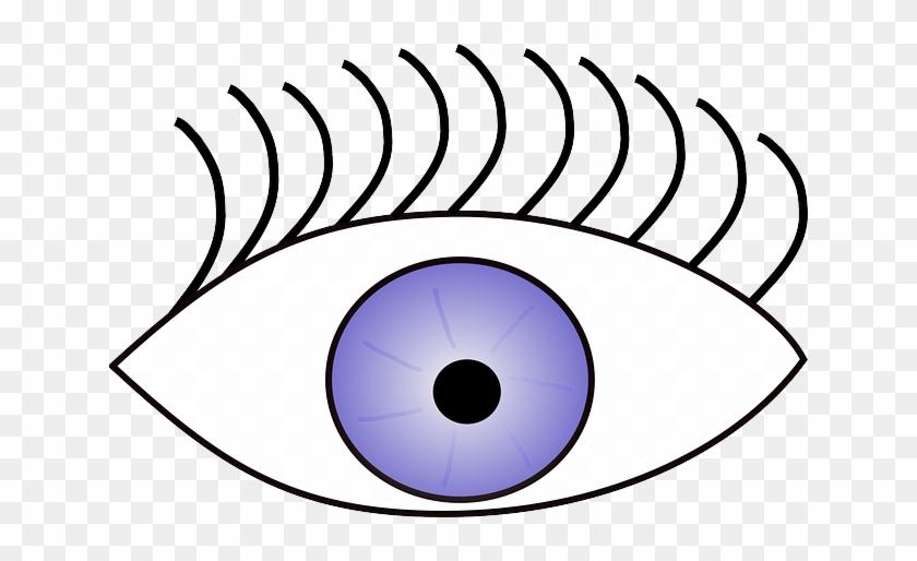 Eyes, Eye, Part, Laser, Human, Cartoon, Body, Sight - Eye Clip Art #1259212
