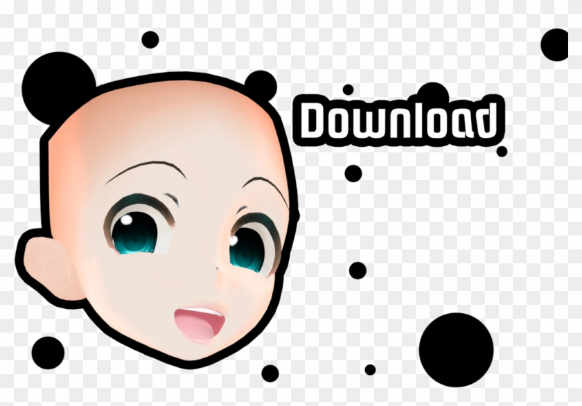 Mmd Face Merge Download By Meinukurai - Mmd Model Base