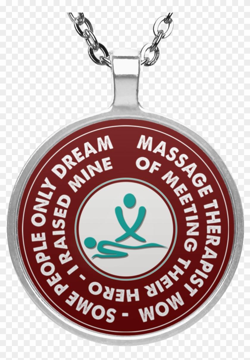 Massage Therapist Circle Necklace Mommeet - Welsh Corgi Christmas ...
