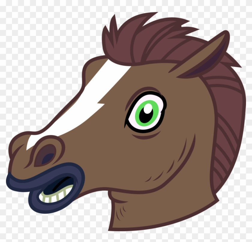 Horse Mask By Paulysentry Horse Head Mask Vector Free