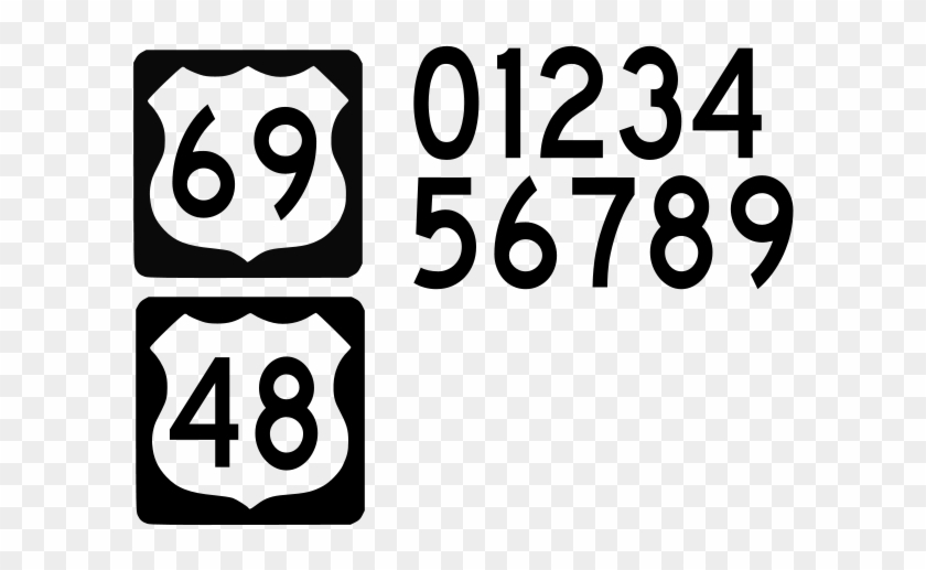 How To Set Use Us Highway Sign Svg Vector - Us Highway Sign #1263657