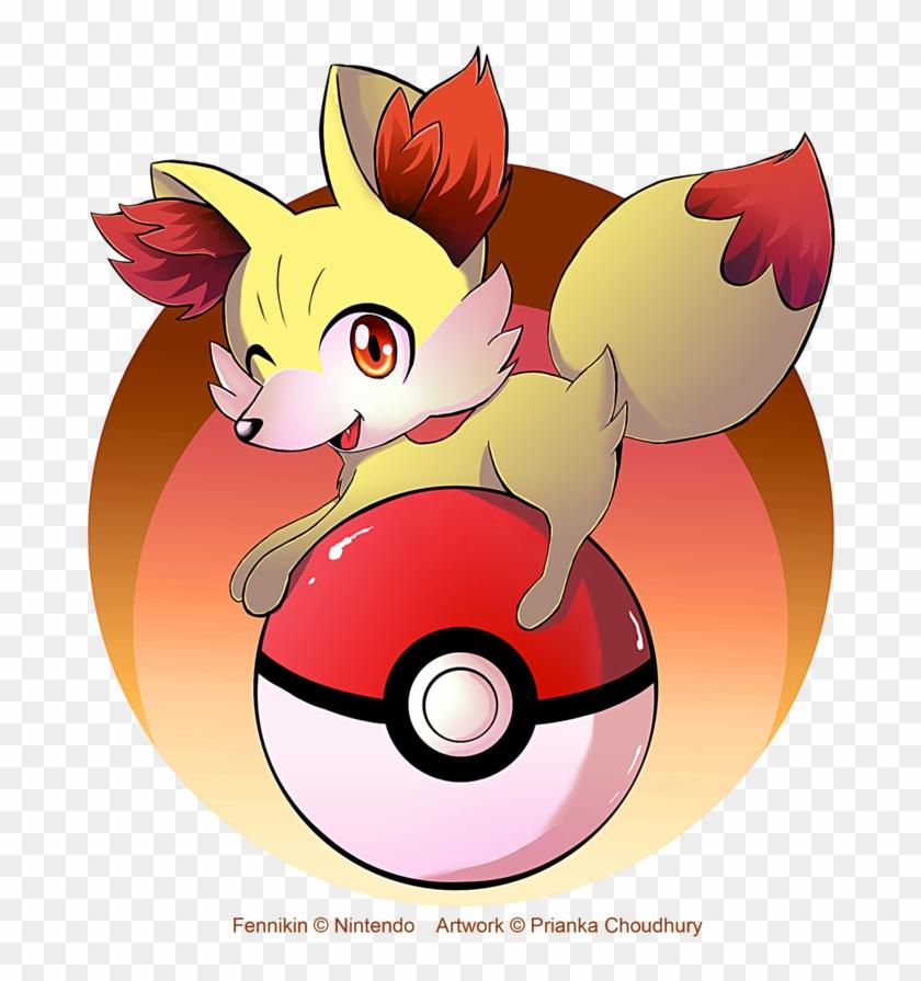 Pokémon X And Y Pikachu Fennekin Pokemon Black White Cartoon