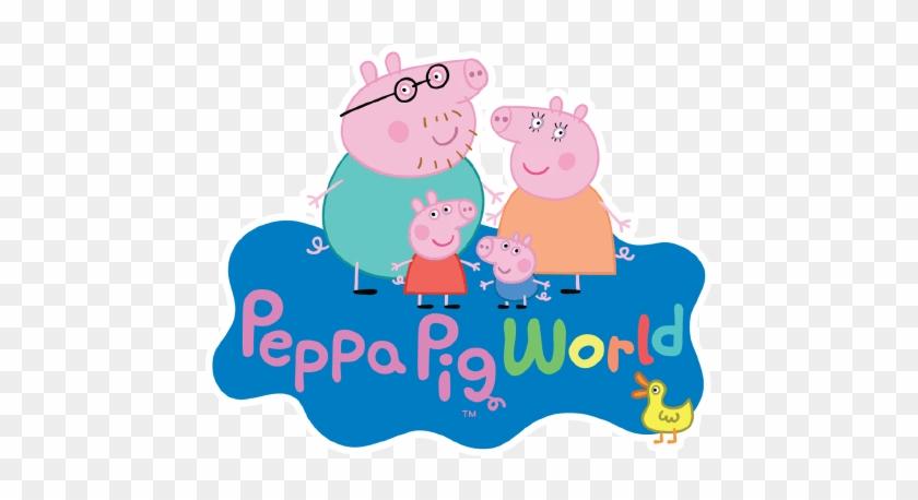 Fotos Peppa Pig - Peppa Pig World Logo #1264311