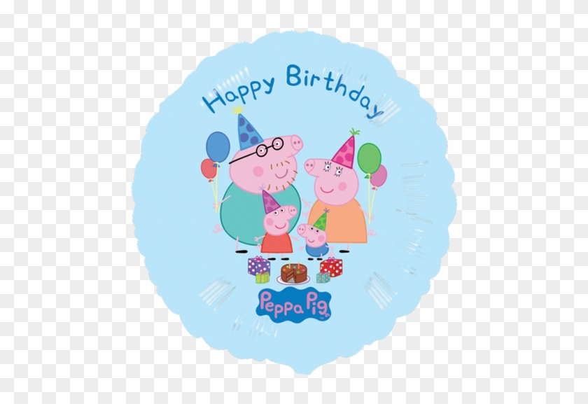 Personalised Peppa Pig Your Child S Birthday Party - Happy Birthday Peppa Pig #1264345