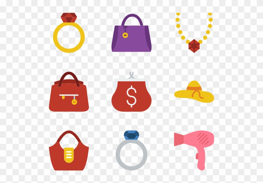 24 Accessories Icon Packs - Fashion Accessories Clipart Png #1264567