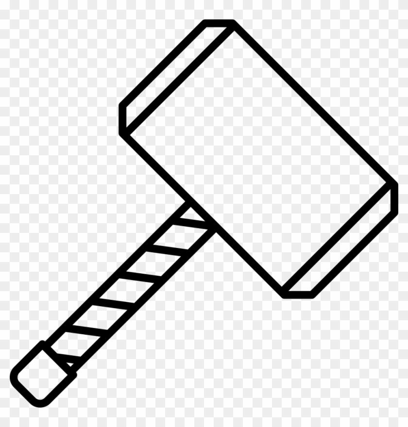 Thor Odin Mjolnir Clip Art Martelo Do Thor Desenho Free