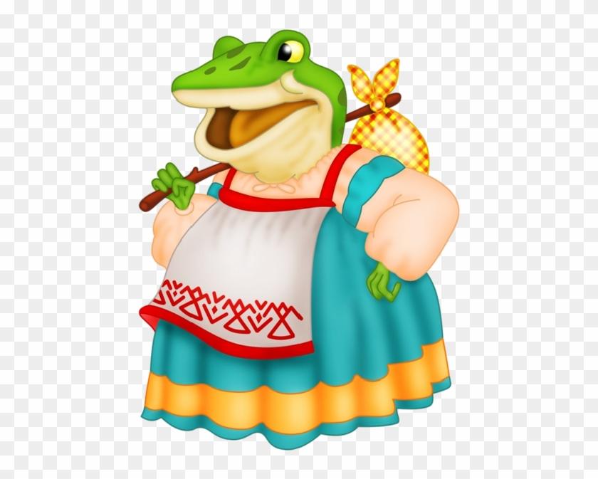 Funny Frog Cartoon Animal Clip Art Images - Мышка Из Сказки Теремок #1265166