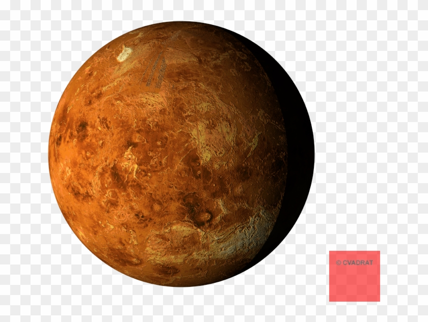 Mars Clipart Transparent Background - Venus Planet White Background #1265257