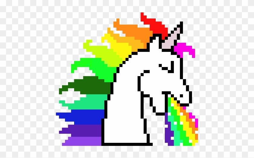 Pixel Unicorn Pixel Art For Minecraft Free Transparent Png