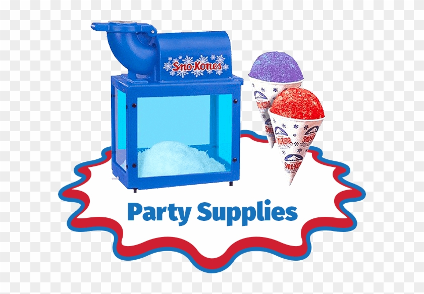 Our Products - Snow Cone Machine Png #1266033