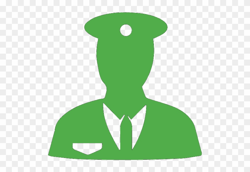 Security Services - Security Guard Icon Blue #1266203