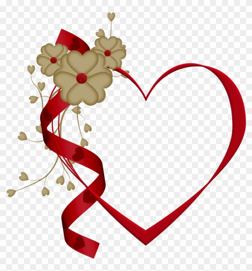 Heart Imagesred Heartsteddy Beardividersclip - Love Heart Frames Png #200731