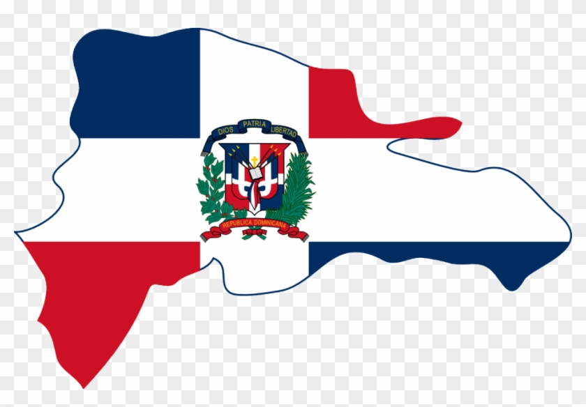 Dominican Republic Peace Symbol Flag 5 Twee Peacesymbol - Dominican Republic Island Flag #200943