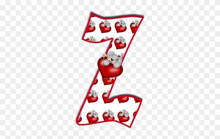 Alfabeto De Tatty Con Corazones - Tatty Teddy Alphabet Letters L #200953
