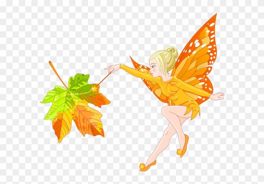 Autumn Fairy Png Clipart Image - Autumn Fairy Clipart #201109