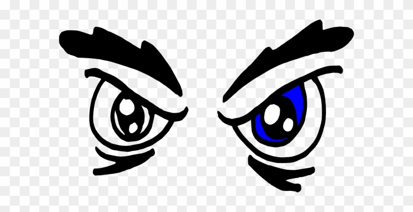 Cartoon Angry Eyes - Angry Eyes Clipart #201111