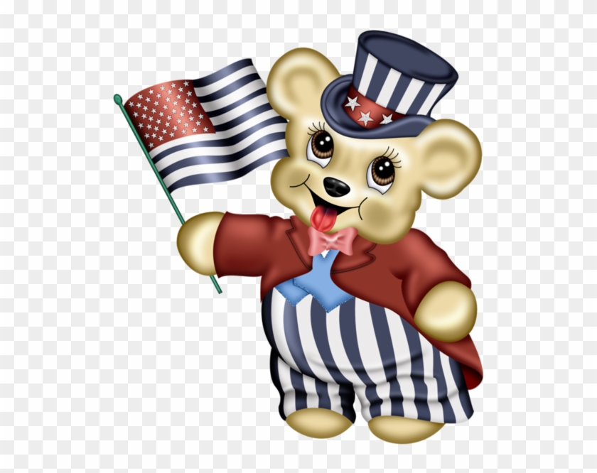 Clip Art - Png Tubes 4th Of July #201200
