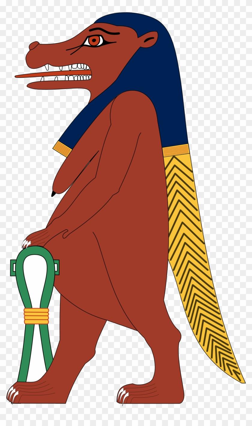 Egyptian Hippo Goddess #201273