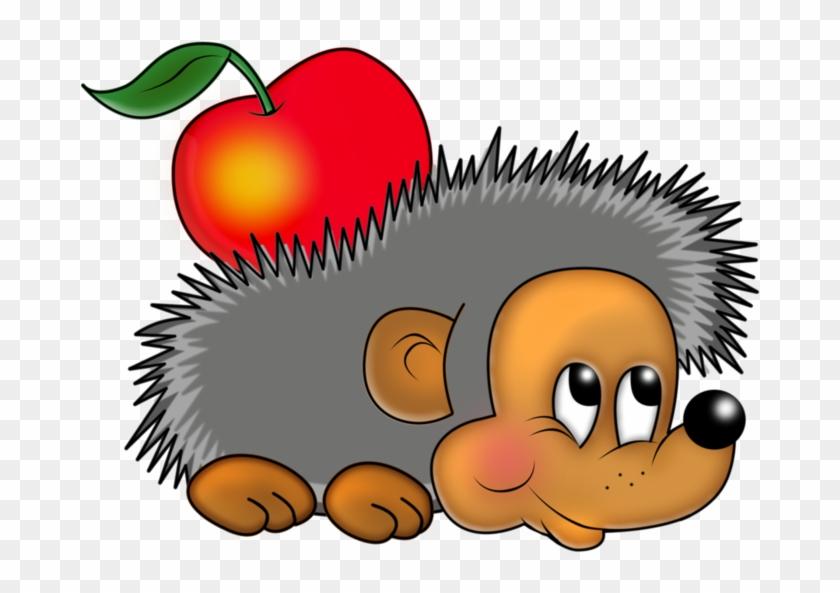 Funny Hedgehog, Cute Clipart, Hedgehogs, Clip Art, - Hedgehog Clipart Png #201429