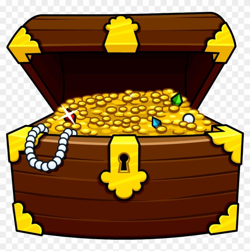 Treasure Chest Clip Art Images Tions Photos - Pirate Treasure Chest Clipart #201464