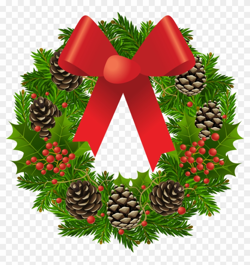 Christmas Wreath Pictures Clip Art Free Cliparts That - Christmas Reef Clip Art #201513