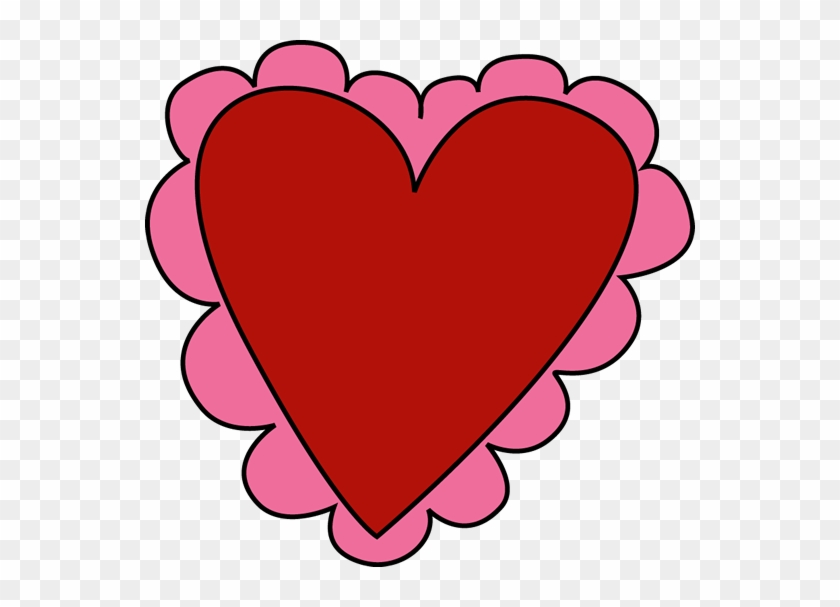 Pink And Red Valentineu0026 - Heart For Valentine's Day #201549