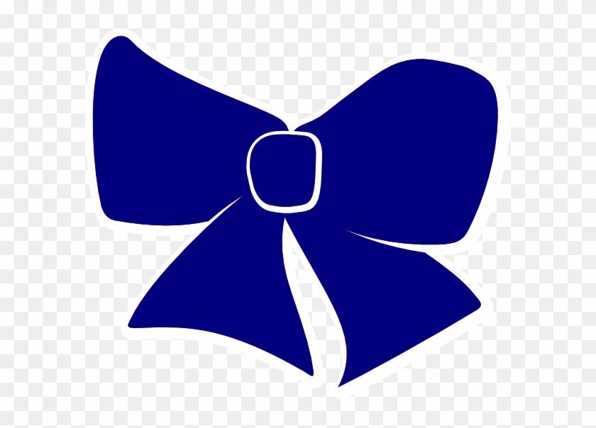 Blue Cheer Bow Clipart #201582