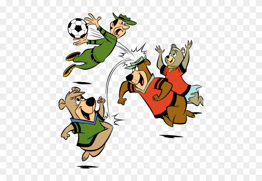 We Are Excited To See You Here At Jellystone Park At Yogi Bear Playing Soccer Free Transparent Png Clipart Images Download