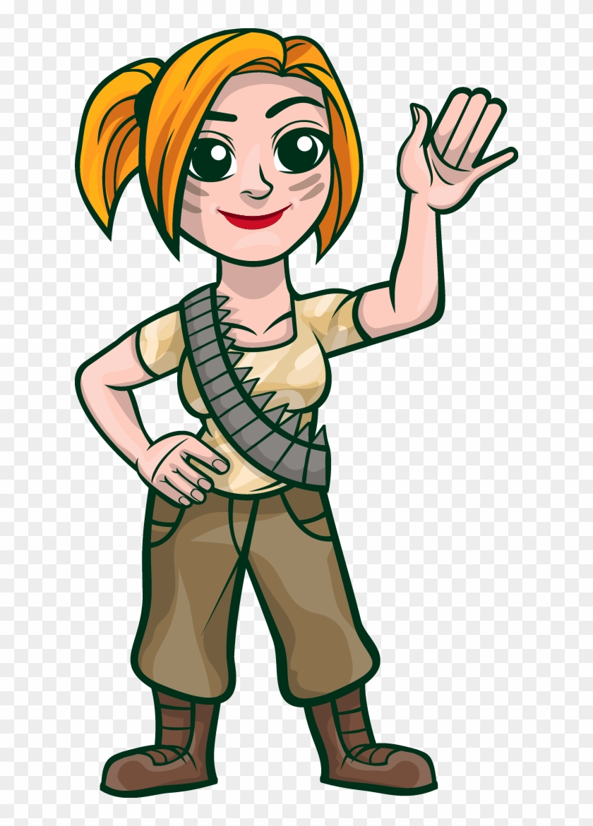 Free Give Thanks Cliparts Download Free Clip Art Female Soldier
