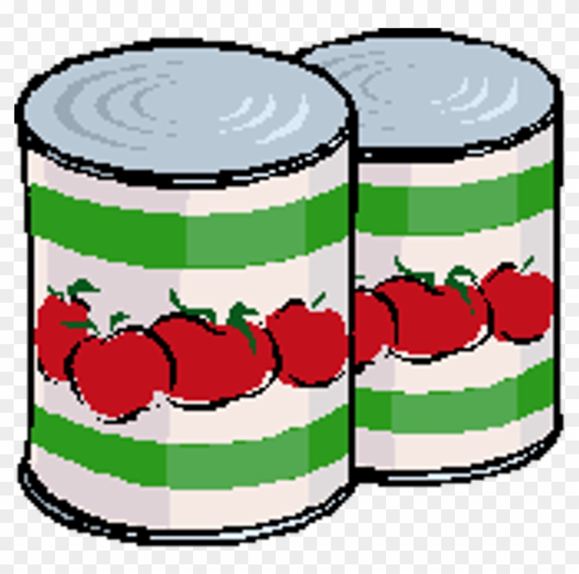 Food Drive - Clip Art Canned Food #201969