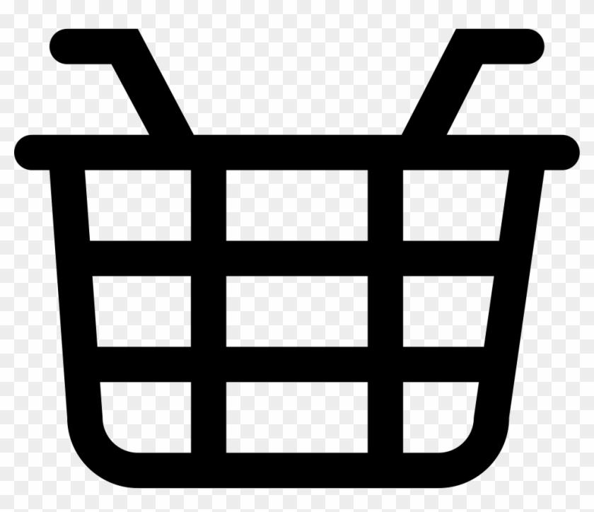 Food Basket Comments - Shopping Basket Symbol #202250