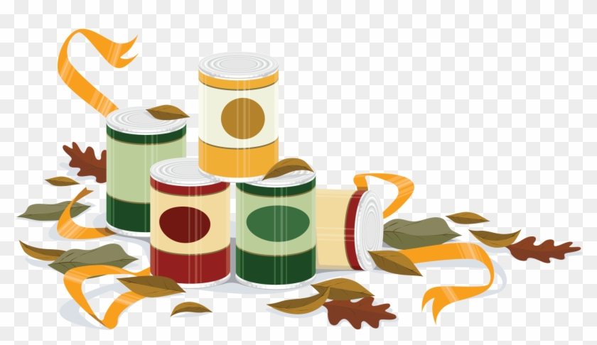 Autumn Christian Cliparts - Canned Food Drive Clip Art #202557