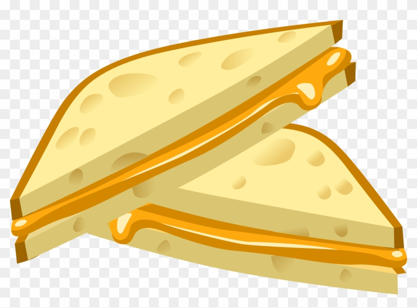 Food Grilled Cheese - Grilled Cheese Sandwich Cartoon #202740