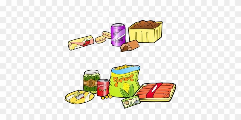 Fast Food Junk Food Industrial Food Burger - Unhealthy Food Sales Vs Healthy #202856