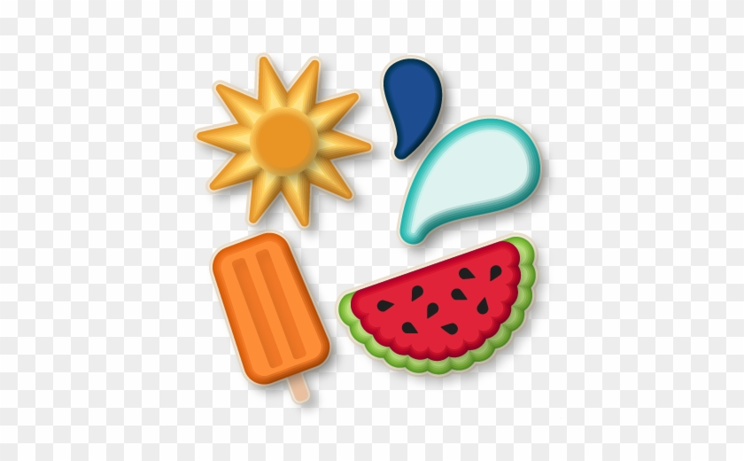 Nested Summer Shapes Svg Scrapbook Cut File Cute Clipart - Summer Shapes To Cut Out #202956