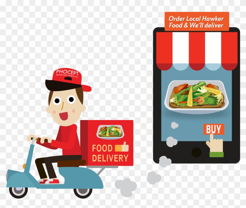 Free Home Delivery Png Clipart Images - Delivery Food #202979
