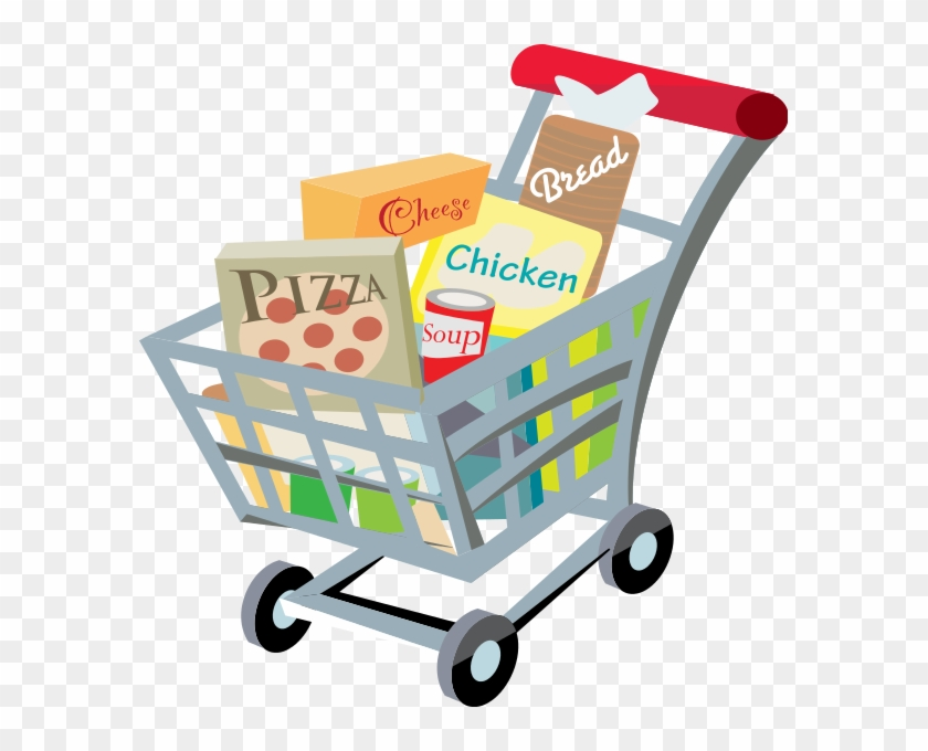 235 × 240 Pixels - Grocery Shopping Cart Clipart #203069