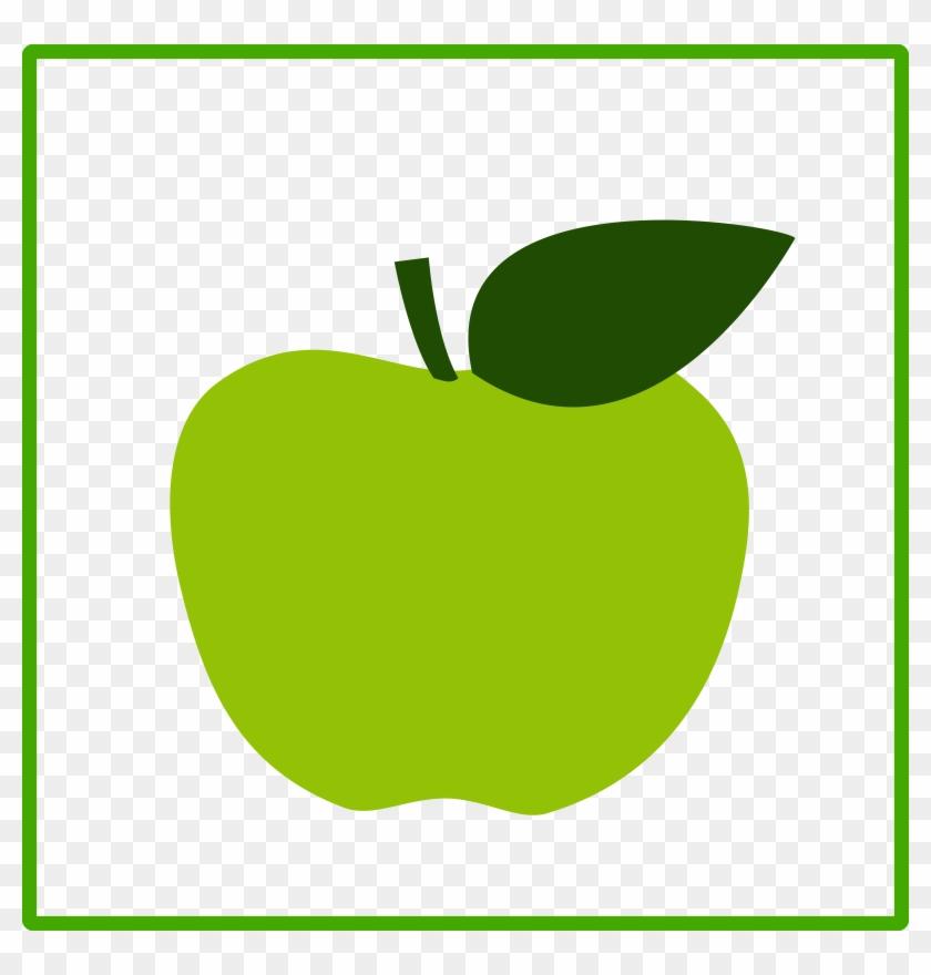 Vandenend's Class Blog - Green Chevron Apple Clipart - 1516x1546 PNG  Download - PNGkit