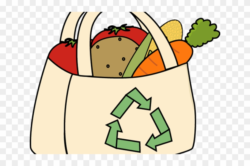 Free Grocery Cliparts - Shopping Bags Clip Art #203171