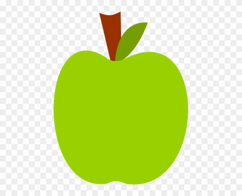 Apple Clipart Clear Background - Green Apple Clip Art Png #203356
