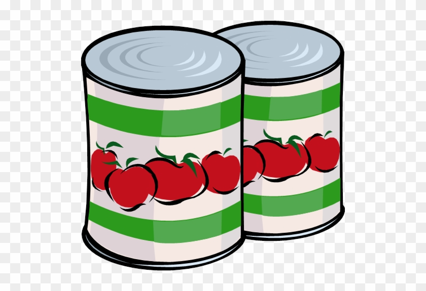 Gca Canned Food Drive - Clip Art Canned Food #203534